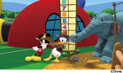 マウス クラブ ハウス ミッキー
